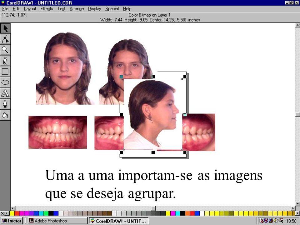 A imagem com o formato PCX sendo lida no Adobe Photoshop