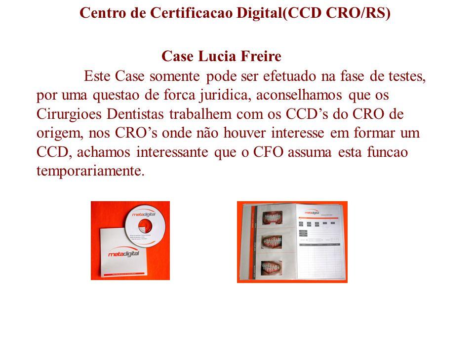 Case Lucia Freire Este Case somente pode ser efetuado na fase de testes, por uma questao de forca juridica, aconselhamos que os Cirurgioes Dentistas t