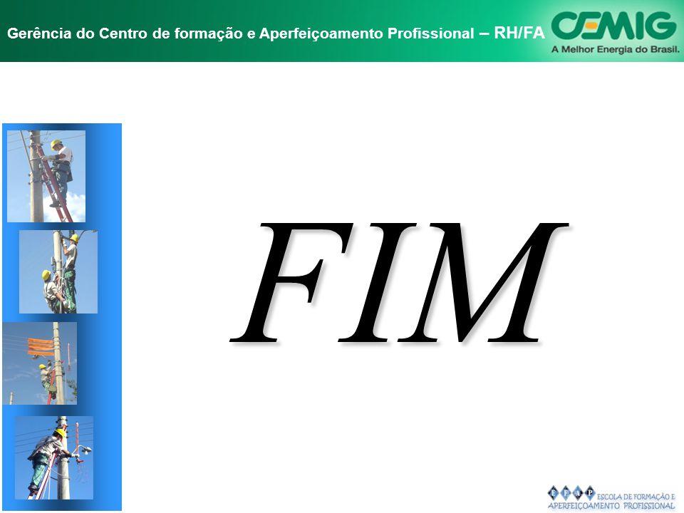 NR-10 SEGURANÇA EM INSTALAÇÕES E SERVIÇOS EM ELETRICIDADE Gerência do Centro de formação e Aperfeiçoamento Profissional – RH/FA 10.14 - DISPOSIÇÕES FI