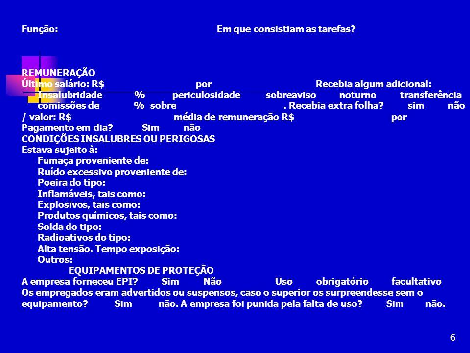 57 ELABORAÇÃO DE CONTESTAÇÃO Roteiro: art.