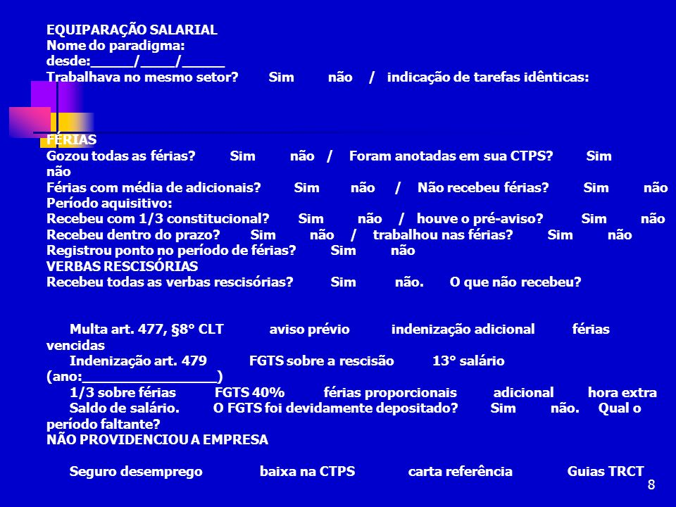 49 PRESCRIÇÃO QUINQUENAL Fulmina os pedidos anteriores a 5 anos do ajuizamento da ação Recordar: da retroação em 5 anos da distribuição do feito (Súmula nº 308, I do TST) Fundamento: art.