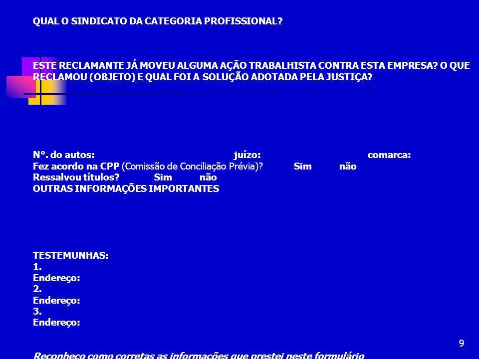 60 TIPOS DE AUDIÊNCIAS Inicial: há a tentativa de conciliação e apresentação de defesa.