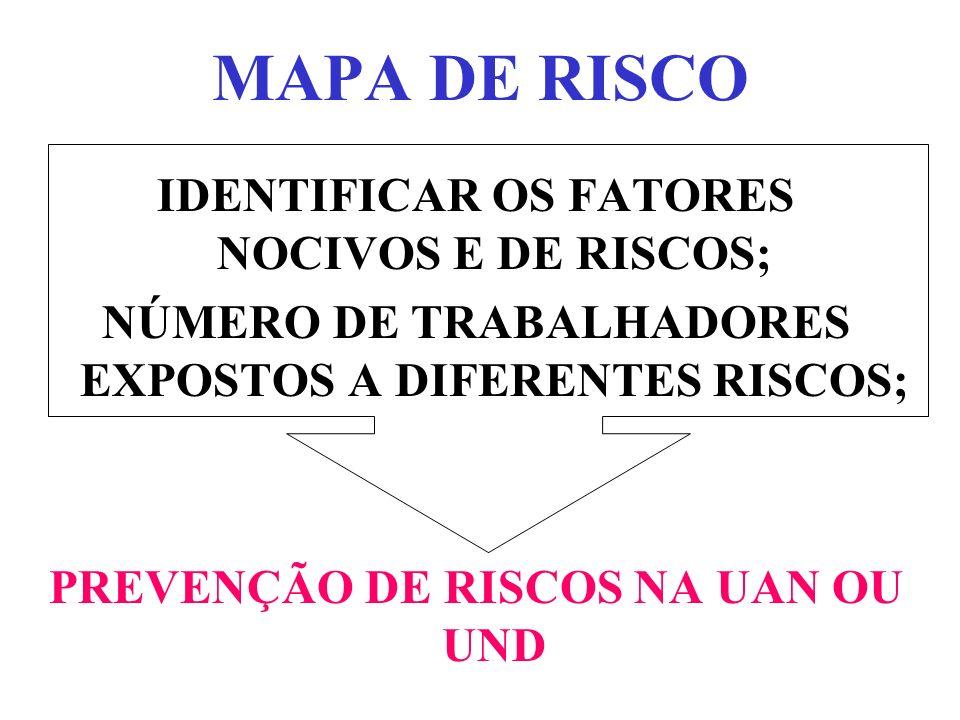 MAPA DE RISCO RESPONSABILIDADE DA CONSTRUÇÃO: CIPA RENOVAÇÃO: ANUAL.