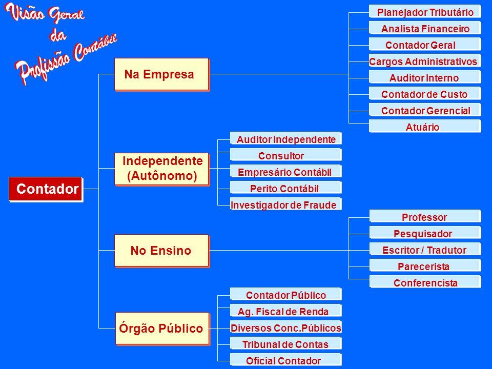 Quais são as áreas de atuação? ? ? ? ? Consultoria Auditoria Perícia FinanceiraGovernamental Ensino Tributária Controladoria Produção