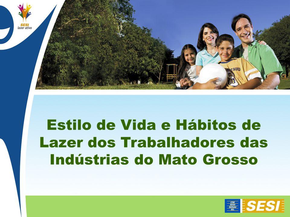 Estilo de Vida e Hábitos de Lazer dos Trabalhadores das Indústrias do Mato Grosso