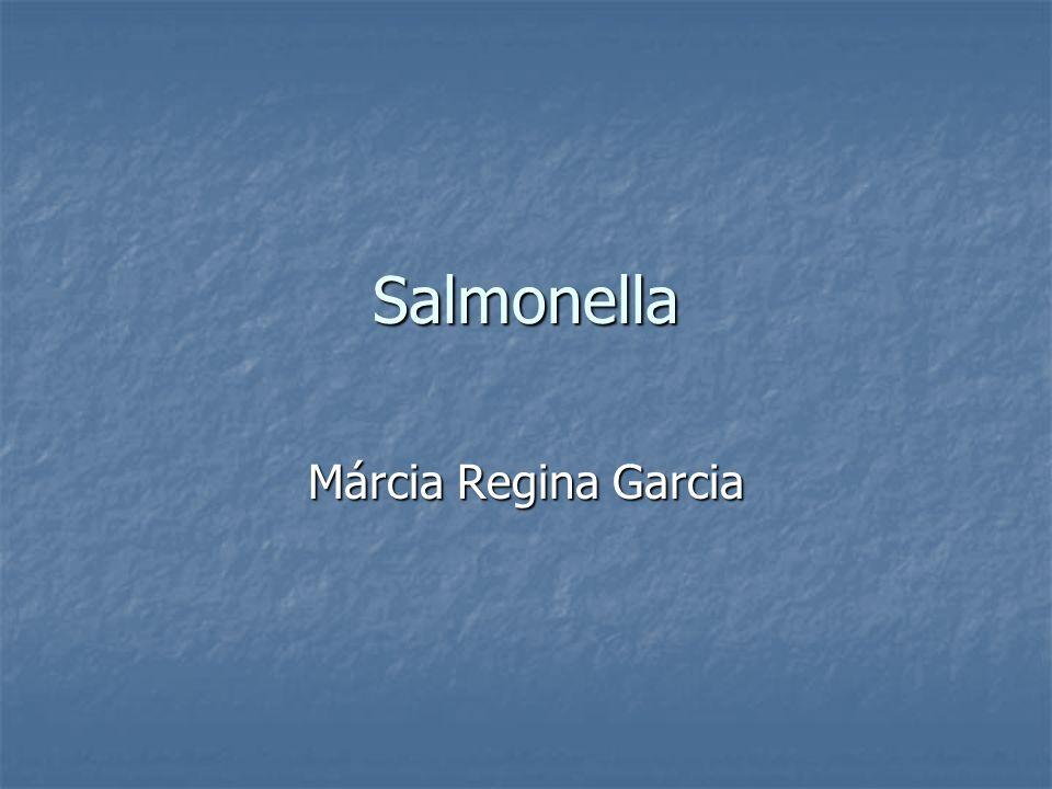 Salmonella Márcia Regina Garcia