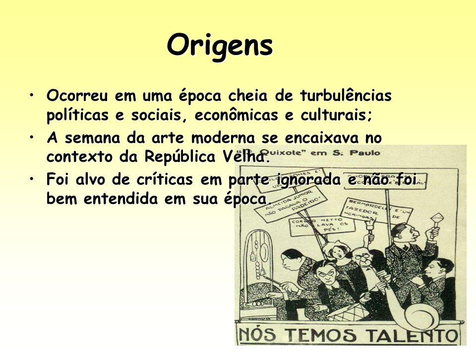 Origens Ocorreu em uma época cheia de turbulências políticas e sociais, econômicas e culturais;Ocorreu em uma época cheia de turbulências políticas e