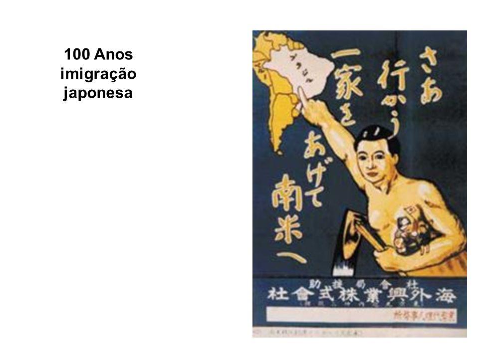 100 Anos imigração japonesa