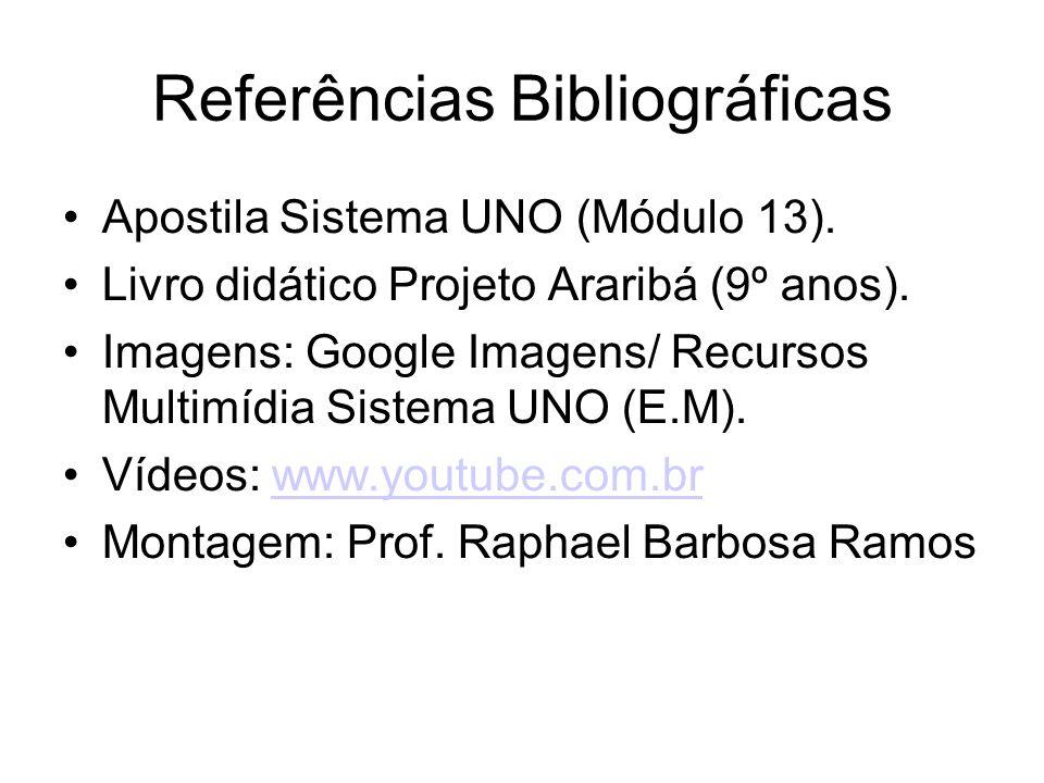 Referências Bibliográficas Apostila Sistema UNO (Módulo 13).