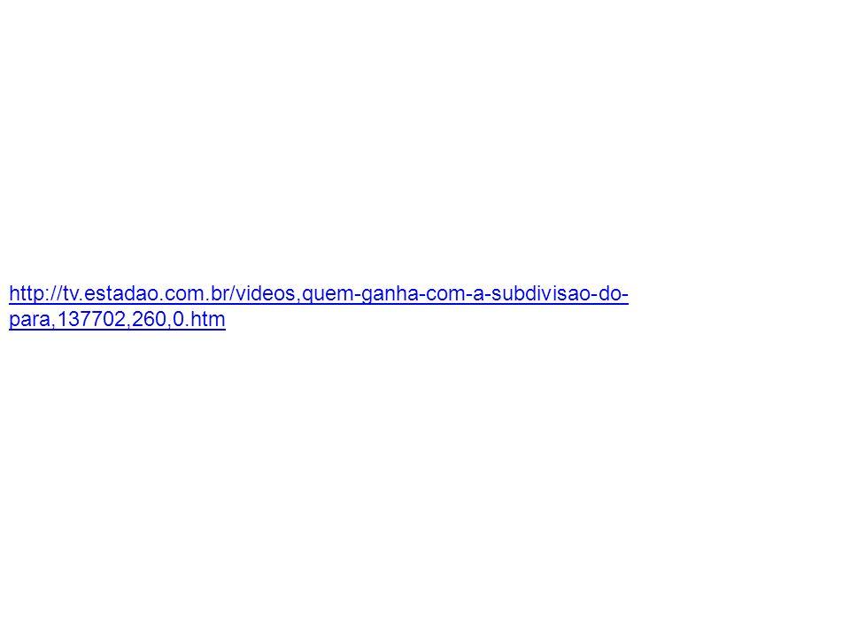 http://tv.estadao.com.br/videos,quem-ganha-com-a-subdivisao-do- para,137702,260,0.htm
