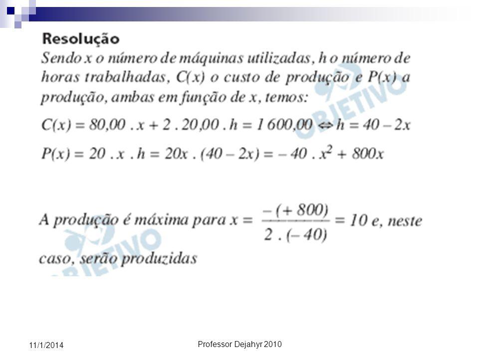 Professor Dejahyr 2010 11/1/2014