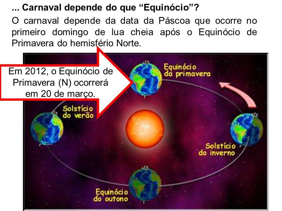 Pelo calendário lunar, dia 8 de abril (Páscoa) será o primeiro Domingo de lua cheia depois do Equinócio (20 mar)...