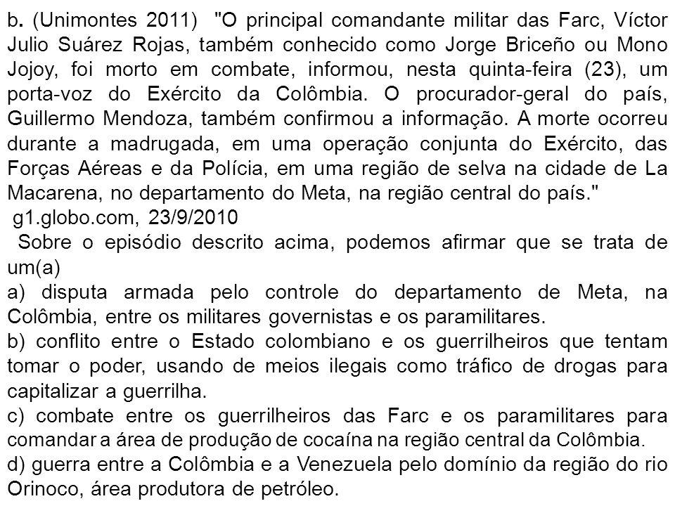 b. (Unimontes 2011)