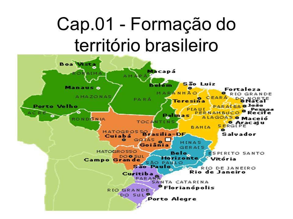 Extensão do território O Brasil é o 5º maior país do mundo em extensão territorial com cerca de 8.514.876 km 2.