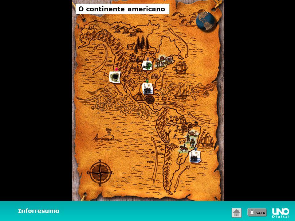 X SAIR Inforresumo O continente americano