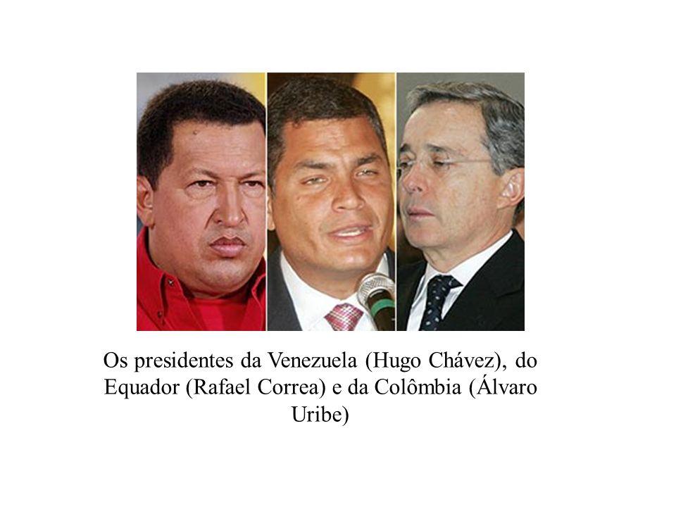 Raúl Reyes, 2º. principal líder das Farc, morto no sábado pela Colômbia Manuel Marulanda Vélez, (1930) fundador e comandante. Também é conhecido como