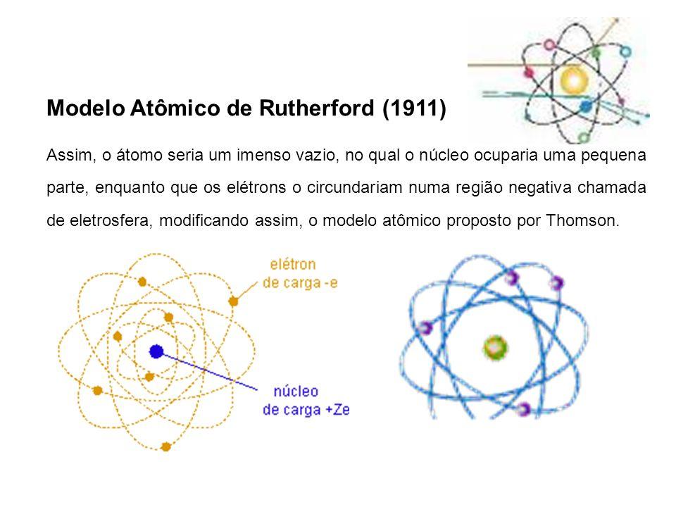 Princípio da dualidade da matéria de Louis de Brodlie: o elétron apresenta característica DUAL, ou seja, comporta-se como matéria e energia sendo uma partícula-onda.