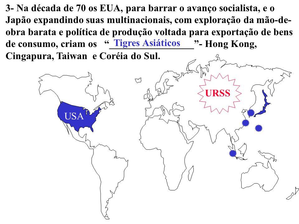 Ásia 9 - A expansão das multinacionais para a Ásia teve aspectos característicos… (002) a grande influência da indústria japonesa e extremo rigor nas