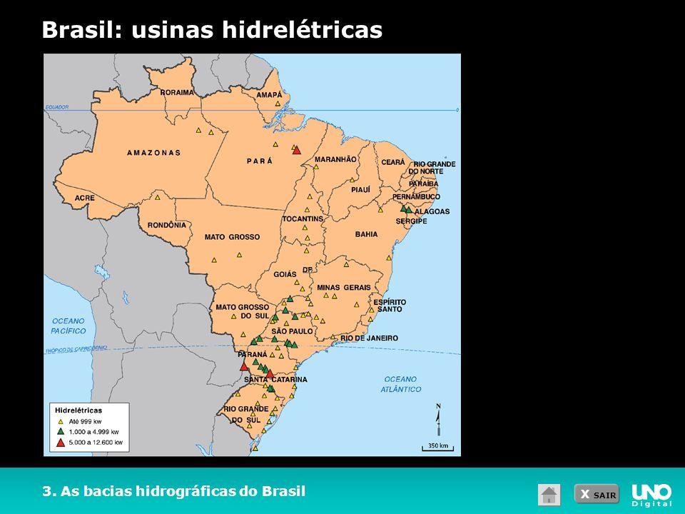 Resultado de imagem para usinas hidreletricas do brasil do brasil mapa