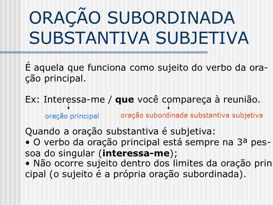 CLASSIFICAÇÃO SUBORD.