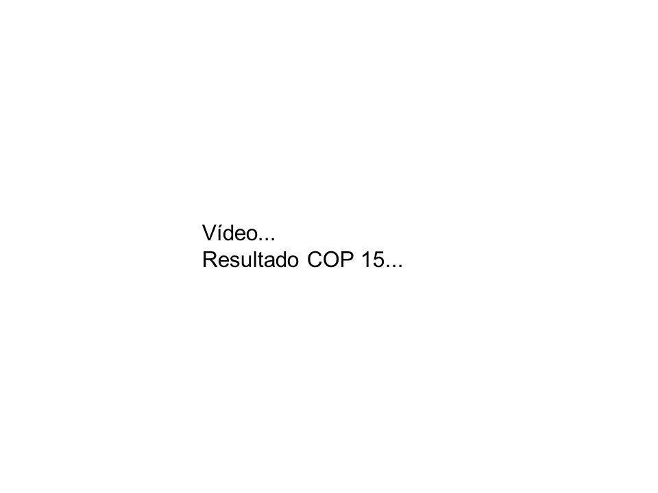 Vídeo... Resultado COP 15...