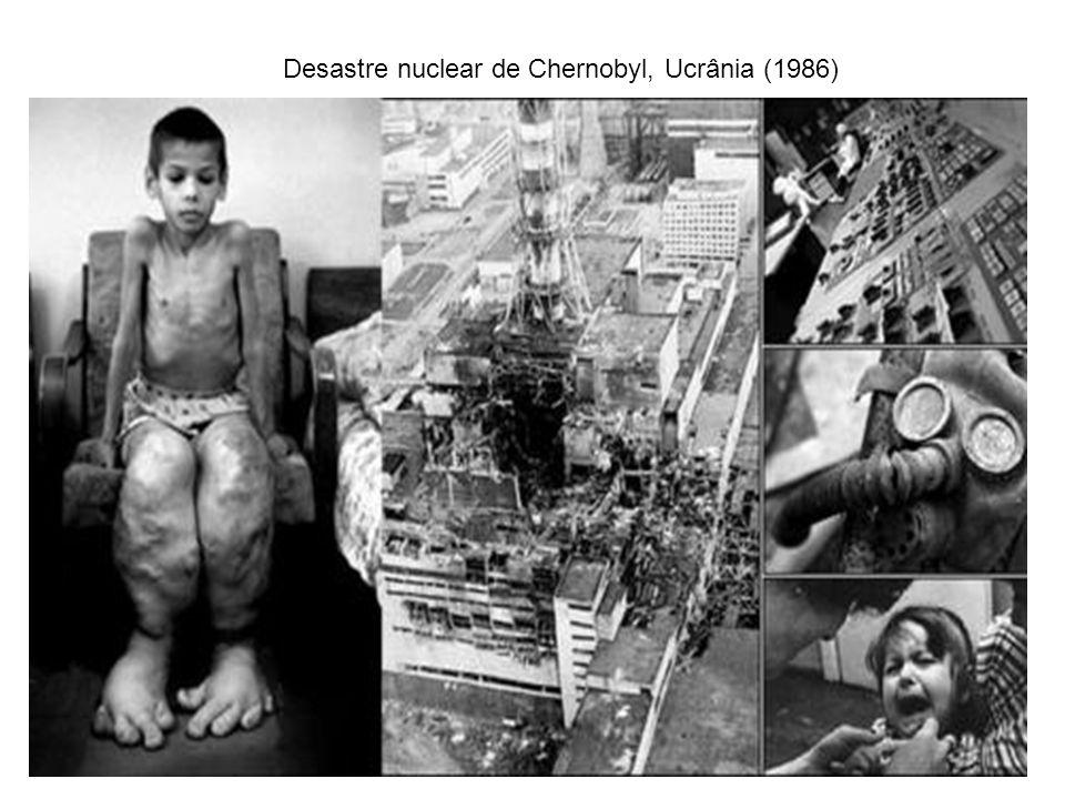 Desastre nuclear de Chernobyl, Ucrânia (1986)