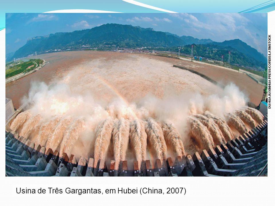 Usina de Três Gargantas, em Hubei (China, 2007) DU HUAJU/XINHUA PRESS/CORBIS/LATINSTOCK