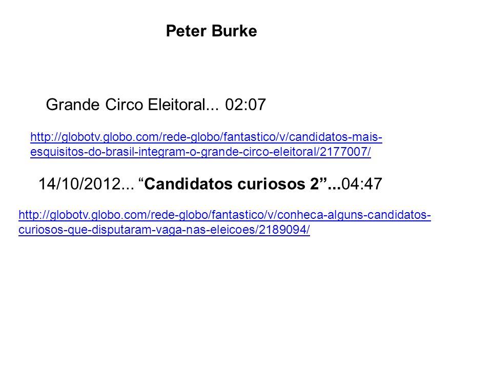 http://globotv.globo.com/rede-globo/fantastico/v/conheca-alguns-candidatos- curiosos-que-disputaram-vaga-nas-eleicoes/2189094/ 14/10/2012... Candidato