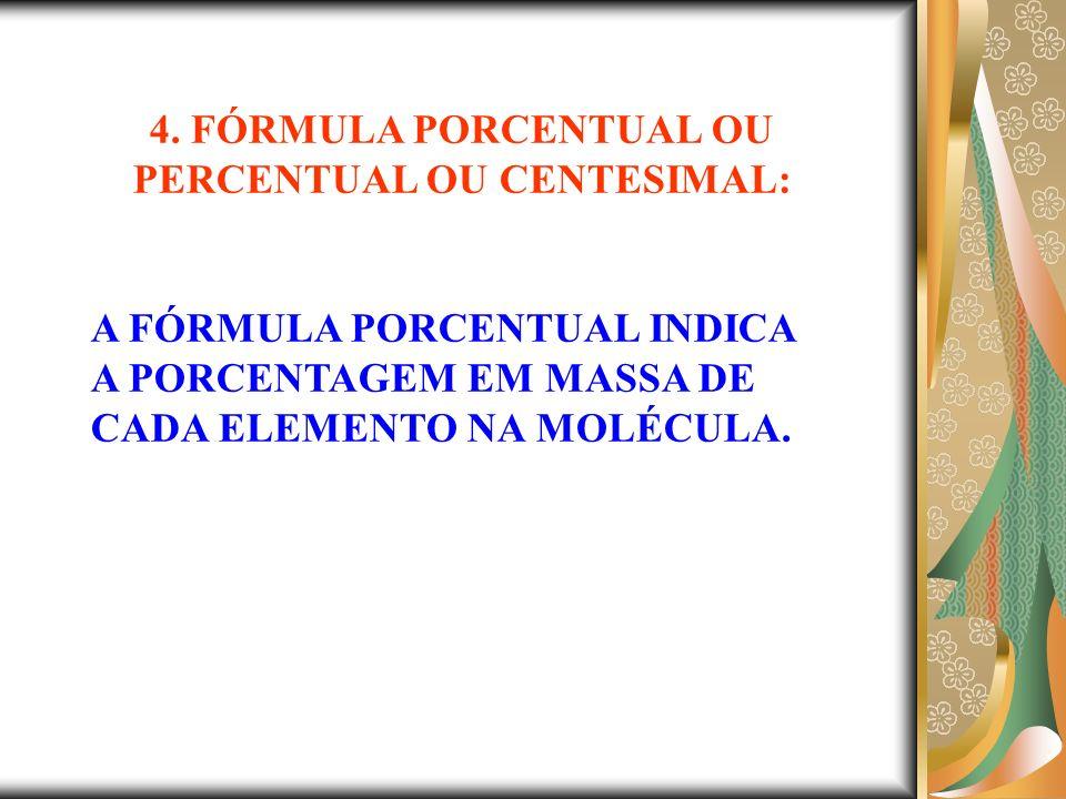 QUAL A FÓRMULA CENTESIMAL DO GÁS METANO.(C=12g/mol e H=1g/mol).