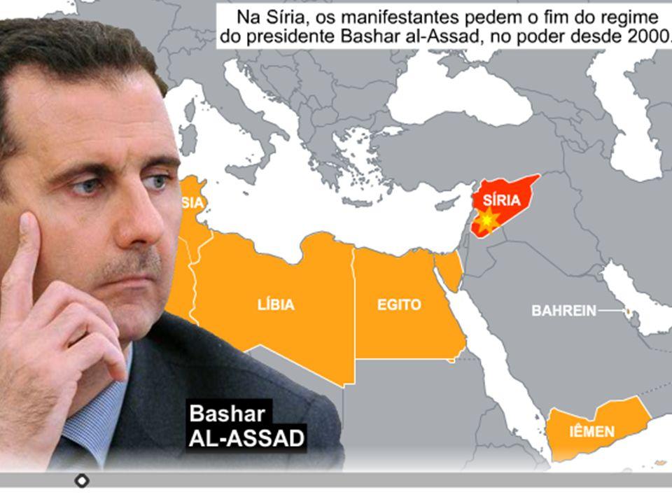 Políticamente...A Síria é uma república parlamentar.