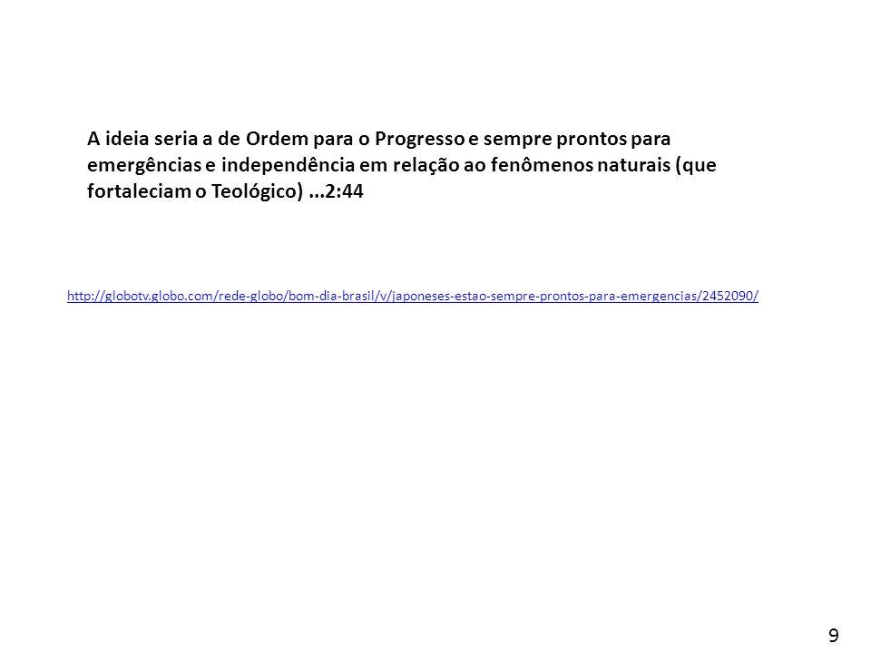 http://globotv.globo.com/rede-globo/bom-dia-brasil/v/japoneses-estao-sempre-prontos-para-emergencias/2452090/ A ideia seria a de Ordem para o Progress