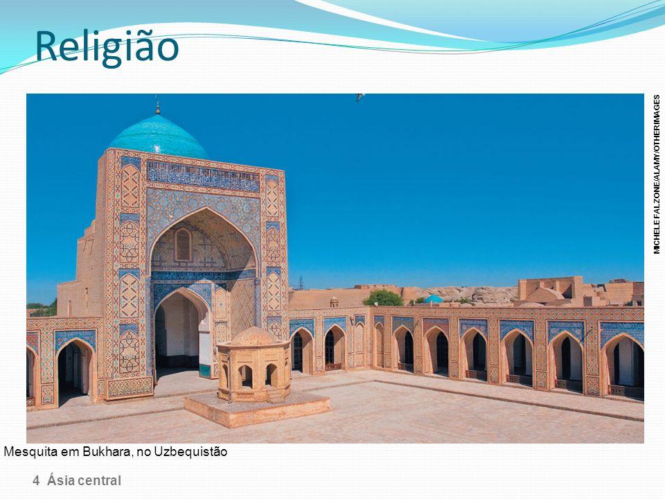 Religião Mesquita em Bukhara, no Uzbequistão 4 Ásia central MICHELE FALZONE/ALAMY/OTHER IMAGES
