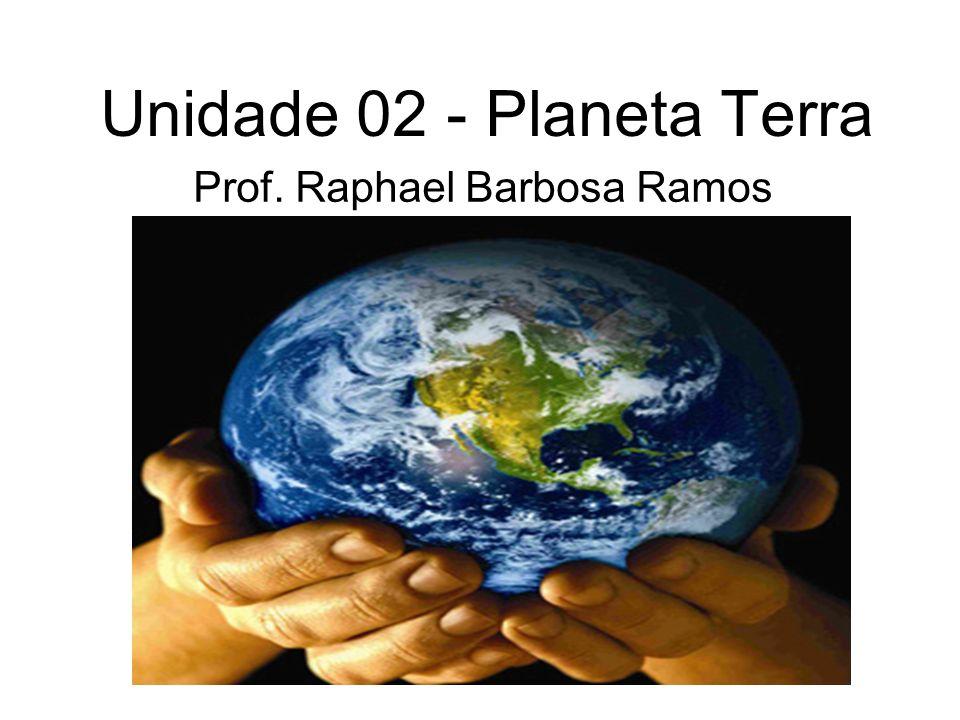 Unidade 02 - Planeta Terra Prof. Raphael Barbosa Ramos