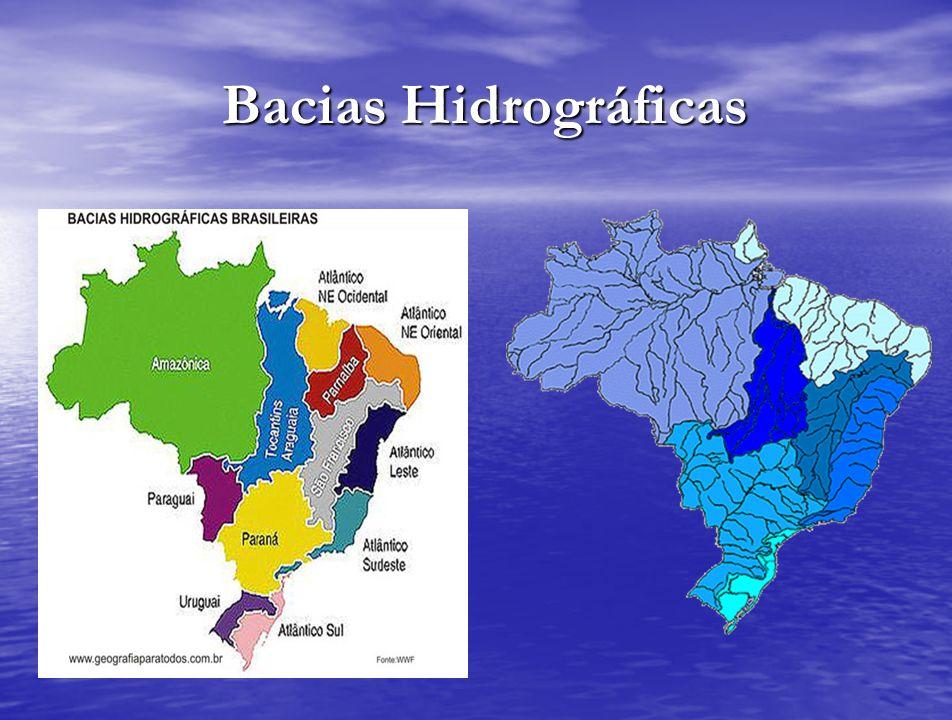 Bacias Hidrográficas Bacias Hidrográficas