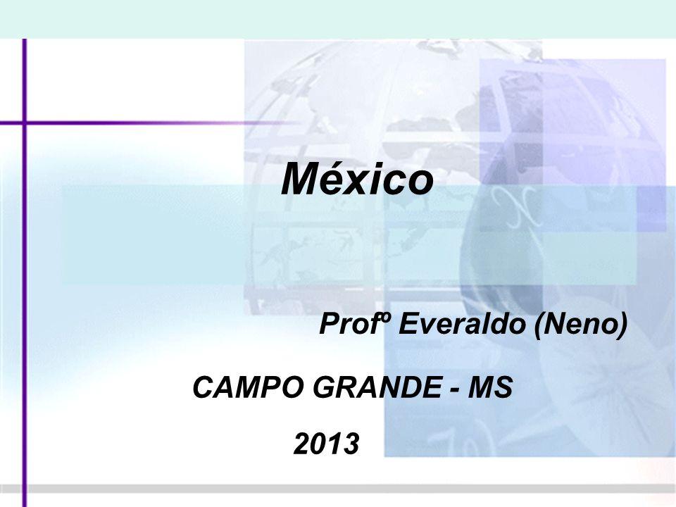 México: regiões naturais No México, o território se estreita à medida que se aproxima da América Central.