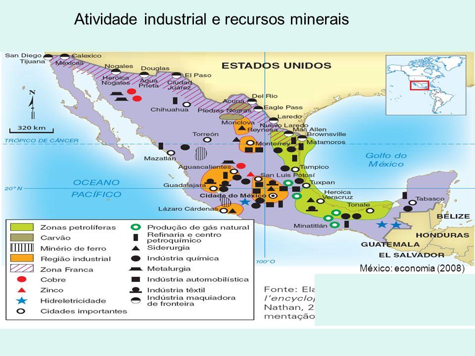 Agricultura e estrutura agrária México: agreicultura (2008)
