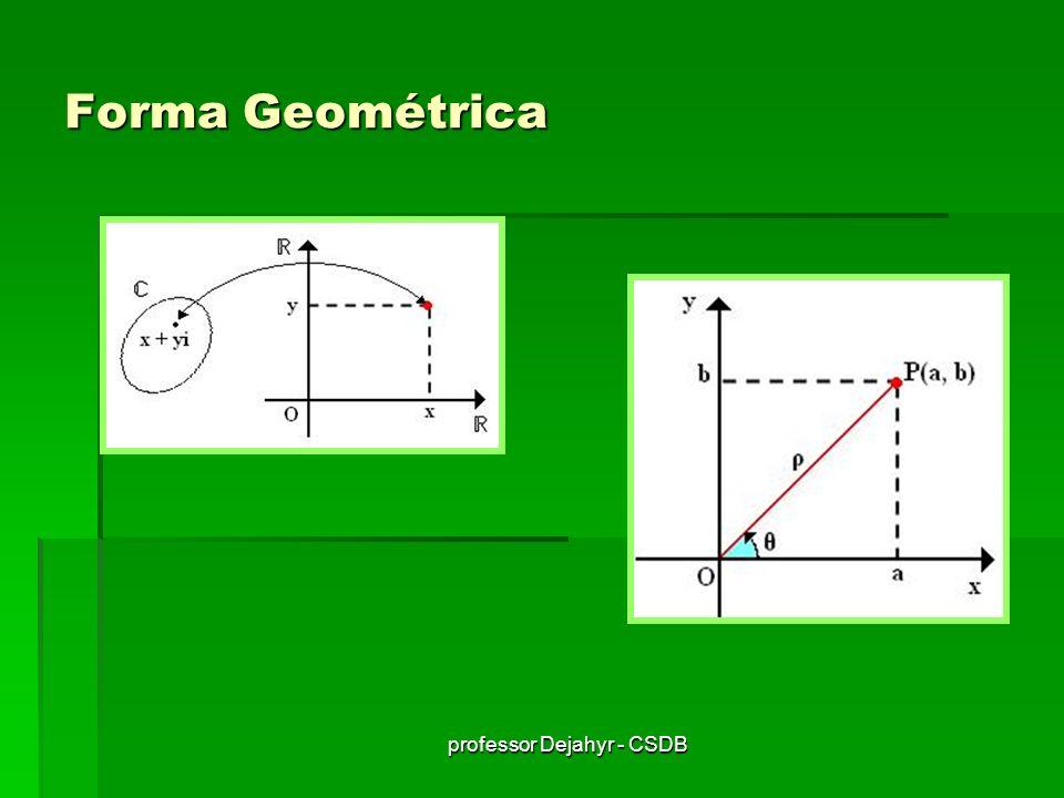 professor Dejahyr - CSDB Forma Geométrica