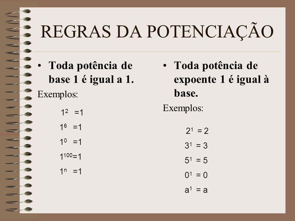 E agora, quanto vale (-3)² .(-3)² = (-3). (-3) = +9 E quanto vale (-2)³ .