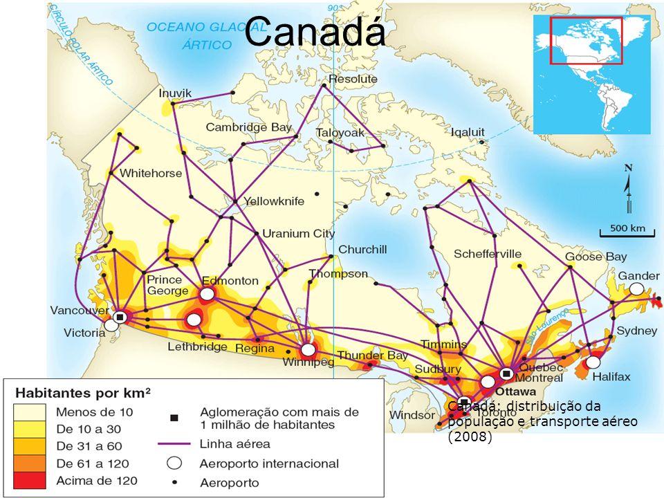 regionalização Alberta - Alberta produz mais de 70% do petróleo e do gás natural do Canadá, sendo boa parte destes recursos naturais exportados para os Estados Unidos da América.