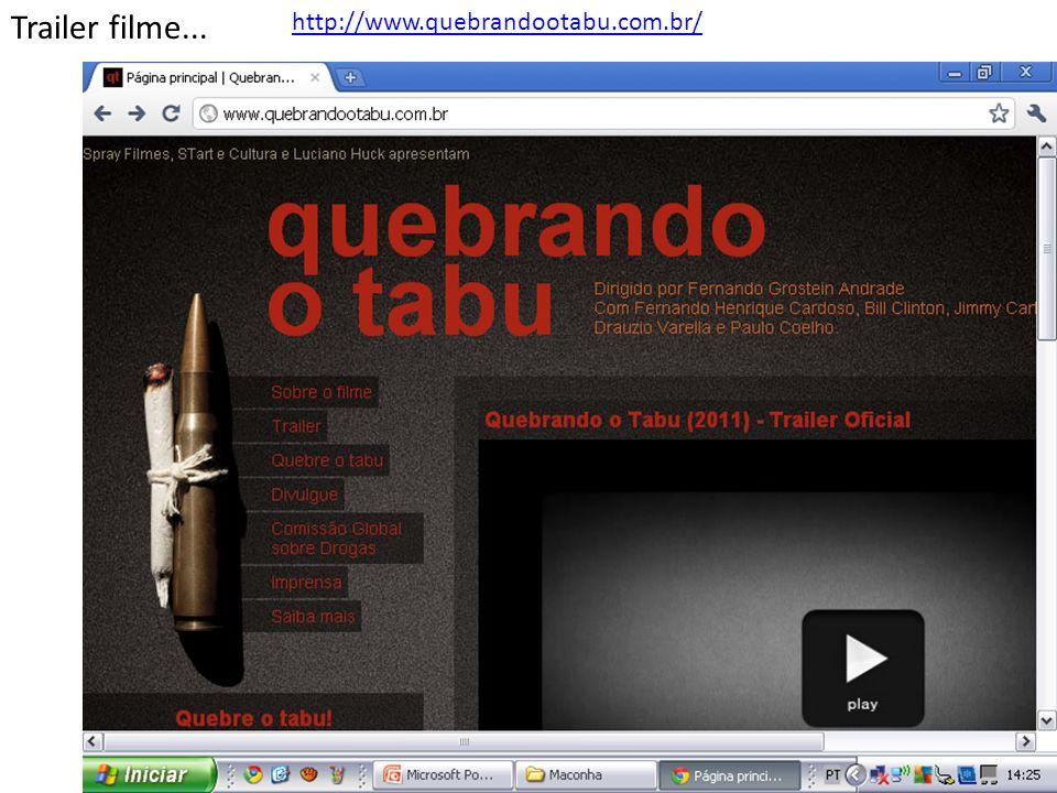http://www.quebrandootabu.com.br/ Trailer filme...