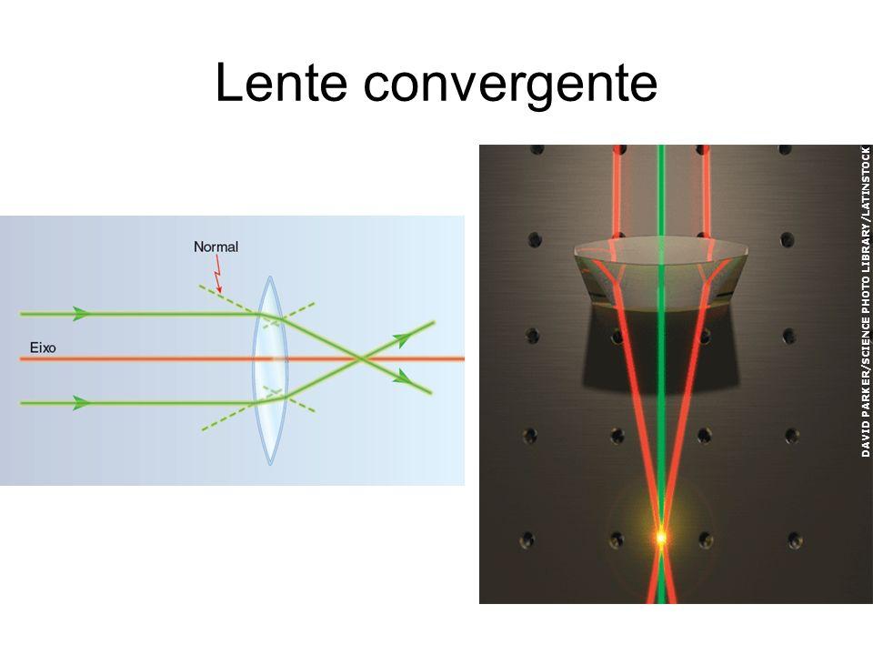 Lente convergente DAVID PARKER/SCIENCE PHOTO LIBRARY/LATINSTOCK