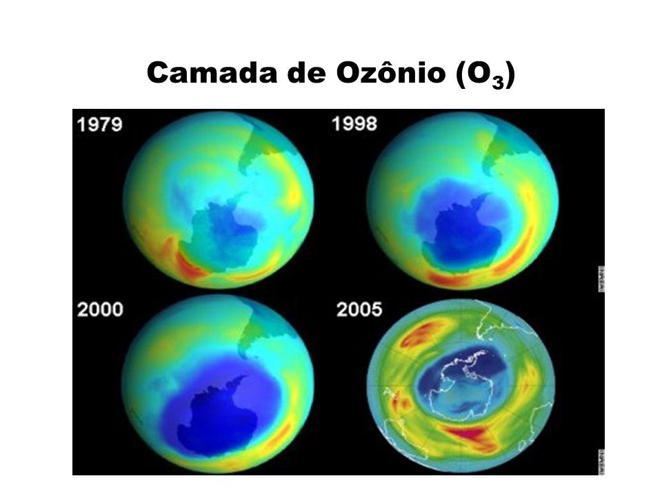 Camada de Ozônio (O 3 )