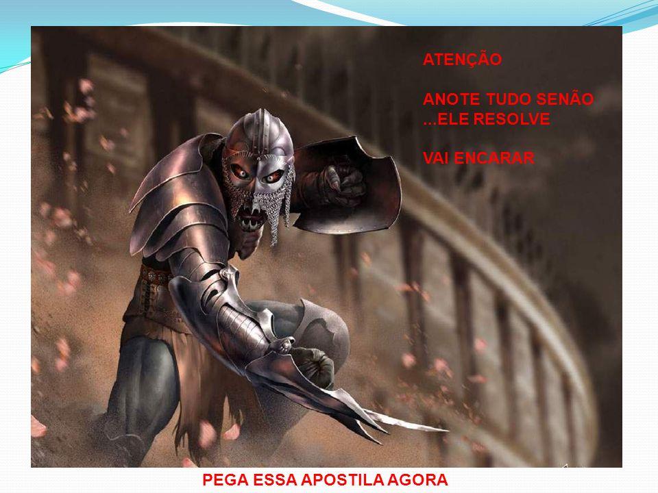 ATENÇÃO ANOTE TUDO SENÃO...ELE RESOLVE VAI ENCARAR PEGA ESSA APOSTILA AGORA