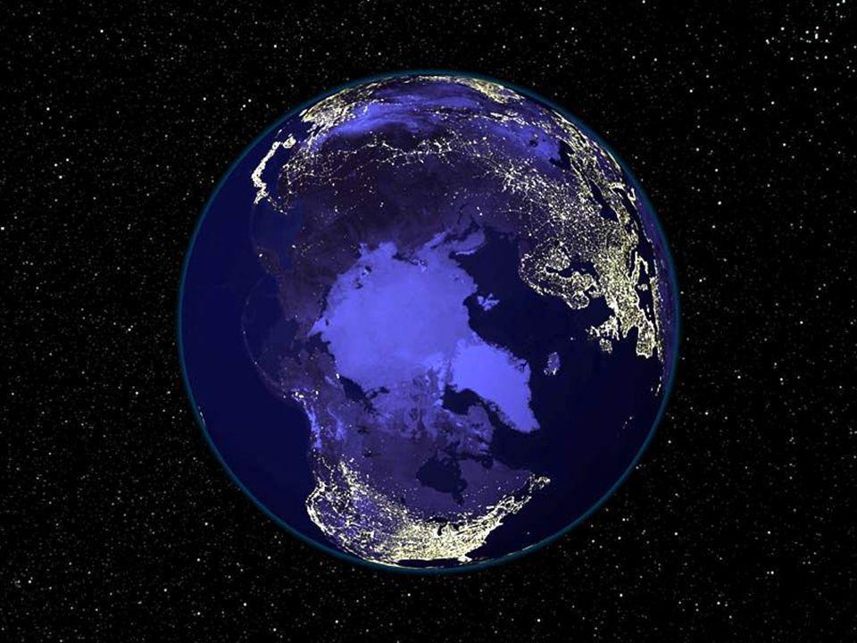 Submersa na obscuridade do Universo a Terra é simplesmente encantadora…