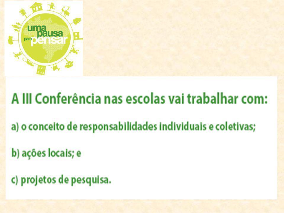 1.Conferência e seus momentos: O que é a conferência? - É um processo coletivo Conferência para quê? - Para que todos participantes possam ser ouvidos