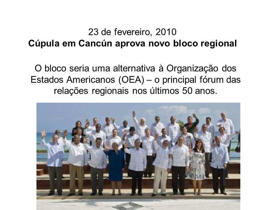 A intenção dos participantes é que esta entidade, que deve estar em funcionamento para as cúpulas na Venezuela (2011) ou no Chile (2012), assuma o patrimônio do Grupo do Rio e da Cúpula da América Latina e do Caribe (CALC).