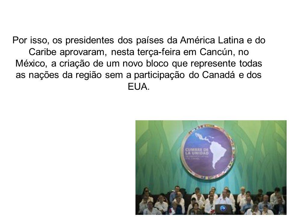 O organismo se chamaria, temporariamente, Comunidade dos Estados Latino-Americanos e Caribenhos e iniciaria suas atividades a partir de julho de 2011 – data da próxima Cúpula da América Latina e do Caribe em Caracas, na Venezuela.