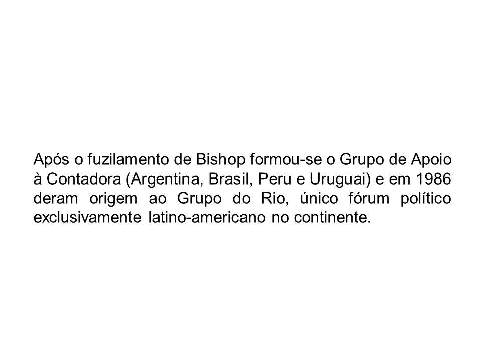 Grupo do Rio Possui baixo grau de institucionalização que lhe permite grande flexibilidade de procedimentos.