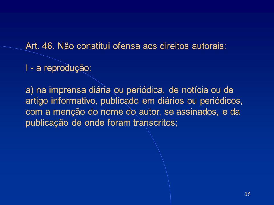 15 Art. 46.
