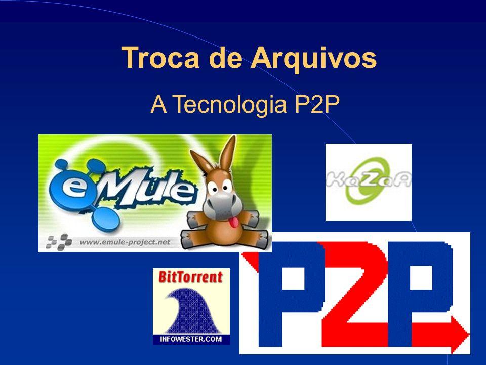 6 Troca de Arquivos A Tecnologia P2P